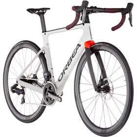Orbea Orca M21eLTD, grey/bright red
